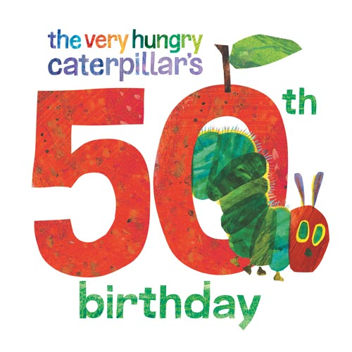 Image result for the very hungry caterpillar 50th anniversary