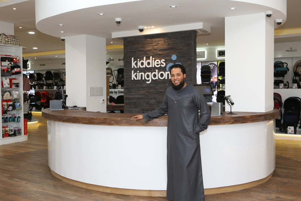 Above: Mohammed Patel, md of Kiddies Kingdom.
