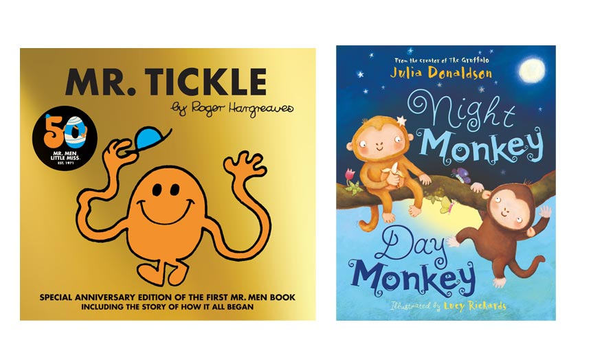 50 years of Mr Men will provide opportunities this year, while Julia Donaldson's backlist performed well through last year.